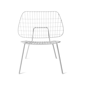 WM String Lounge Chair von Menu in Weiss