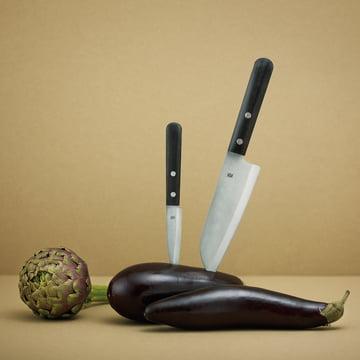 Stelton - Rig-Tig Easy Messer, in Aubergine
