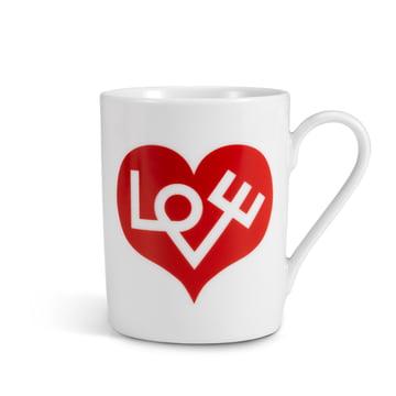 Coffee Mug Love Heart von Vitra in Rot