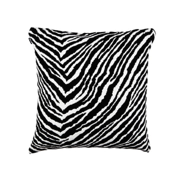 Artek - Zebra Kissenbezug, gewebte Wolle, 50 x 50 cm, schwarz / weiss