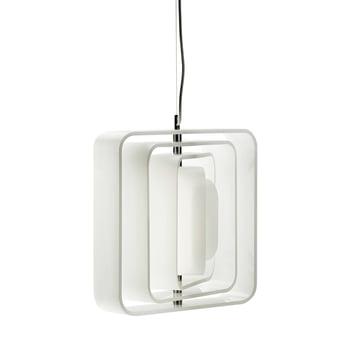 BeDesign - QBE-Light Pendel-/ Deckenleuchte, matt weiss