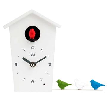 KooKoo - Bird House Mini, weiss