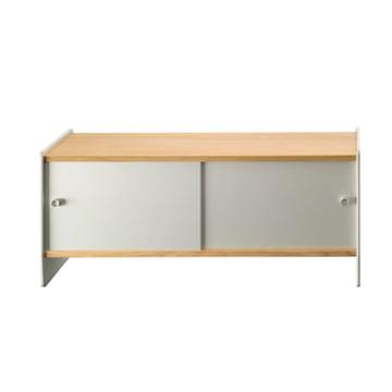 Magis - Theca Sideboard 123 cm, Aluminium / Kirschbaum