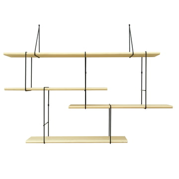 Studio Hausen - Link Setup 1, Esche natur / schwarz