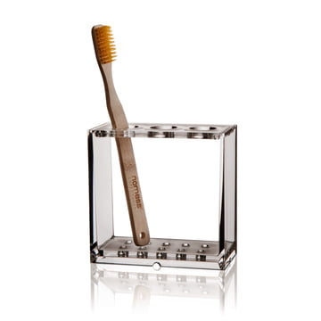 Nomess - Clear Zahnbürstenhalter, mit Zahnbürste