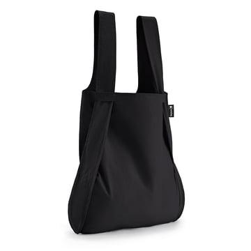Notabag - Tasche und Rucksack, schwarz