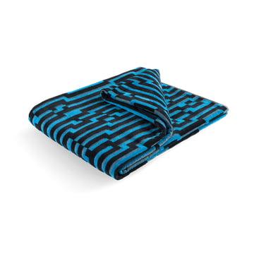 Mini Blue Waves Strandtuch 100 × 180 cm von Zuzunaga