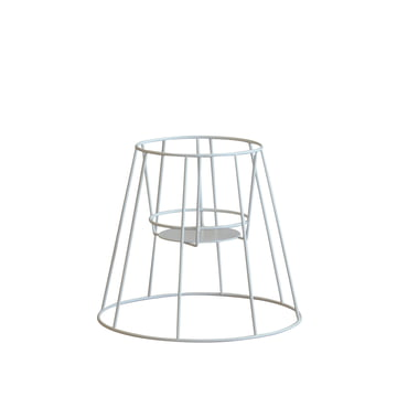 OK Design - Cibele Blumentopfständer Small, weiss