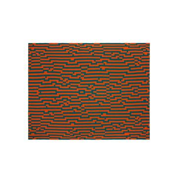 Zuzunaga - Zoom In 1 Wolldecke, 140 × 180 cm
