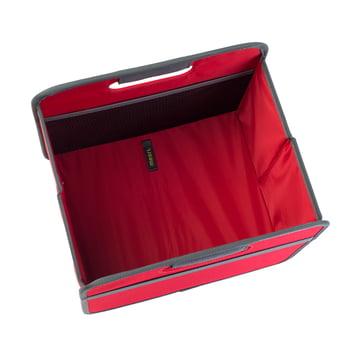 meori - Klassiker Faltbox 15 Liter, Hibiskus Rot Uni