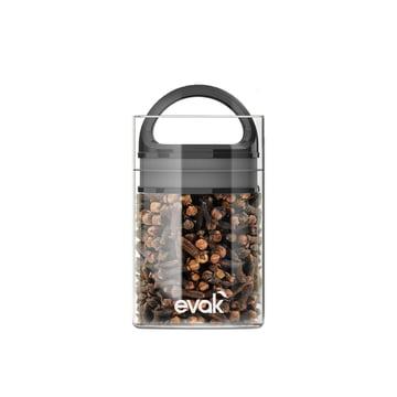 Prepara - Evak Vorratsbehälter 9,5 cm Mini, schwarz