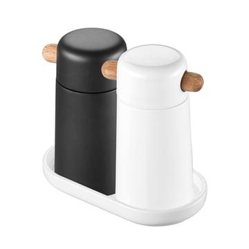 Thomas - Tablett klein, mit Salz- und Pfeffermühle