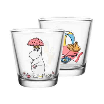 Iittala - Mumin Trinkglas 21 cl, Snorkmaiden in the Sun