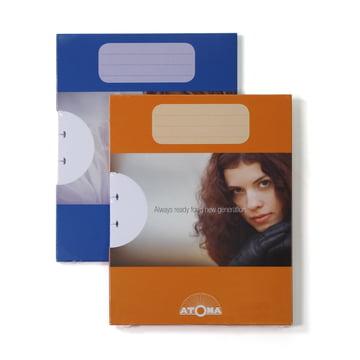Atoma - Nachfüllpack Basic A5 blanko, Duo mit Verpackung