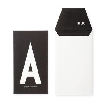 Design Letters - AJ Postkarte A