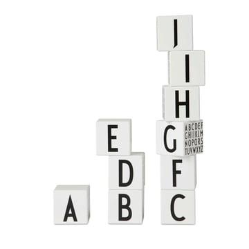 Design Letters - AJ Wodden Letters Cubes - Kids Classic