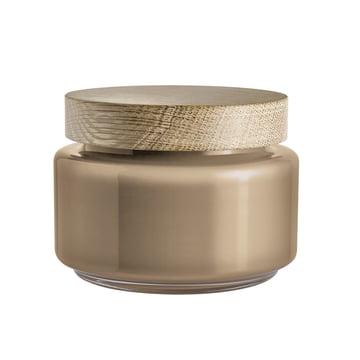 Holmegaard - Palet Aufbewahrungsglas in braun für 1,2 l