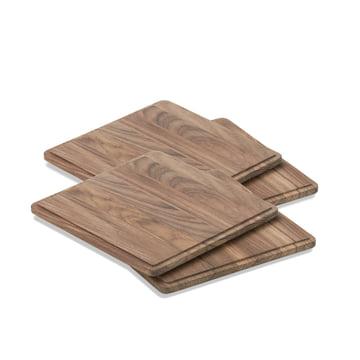 Plank Schneidebrett (4er-Set) von Skagerak aus Teakholz