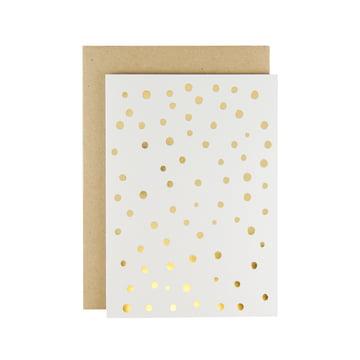 Karte - Adrift Grusskarte in Gold