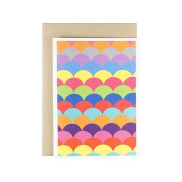 Karte - Ohne Zucker Grusskarte (Bright)