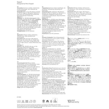 Kvadrat - Stoffkarte Tonus 4