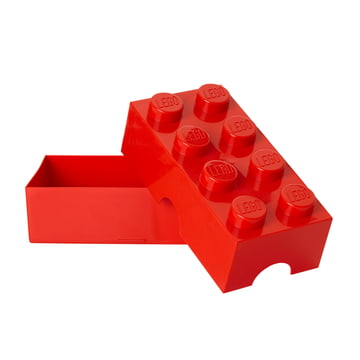 Lego - Lunch Box 8, rot