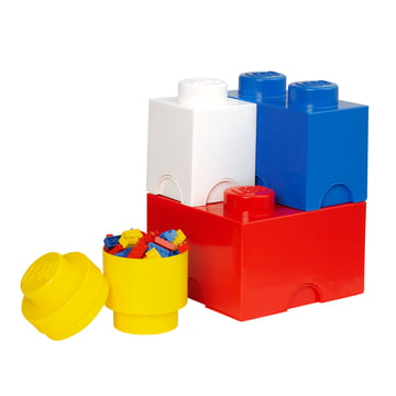 Lego - Storage Brick, 4er-Pack