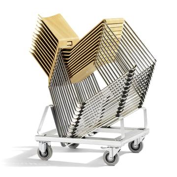 Stapelbarer Stuhl für den Wohn- und Objektbereich
