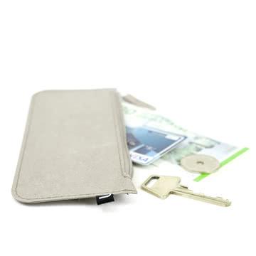 Wallet Papierbrieftasche / Federmäppchen von Novoform in grau