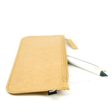 Novoform - Wallet Papierbrieftasche / Federmäppchen, natur
