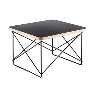 Eames Occasional Table LTR von Vitra in HPL schwarz / basic dark