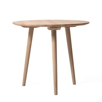 In Between Tisch SK3 Ø 90 cm von &Tradition in Eiche weiss geölt