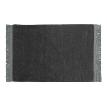 Hay - Raw Teppich 170 x 240 cm in Anthrazit