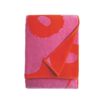 Unikko Badetuch 75 x 150 cm von Marimekko in Rot