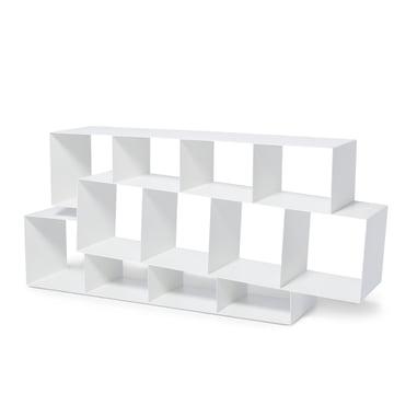 Squilibri Bücherregal von Skitsch in Weiss