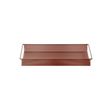 Metal Tray Small von ferm Living in Ocker