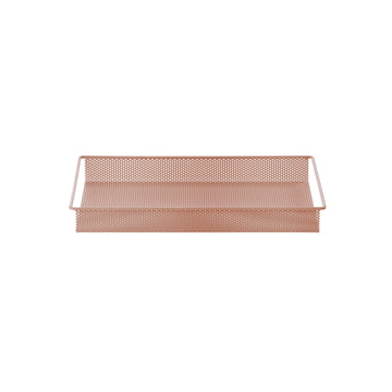 Metal Tray Small von ferm Living in Rosa