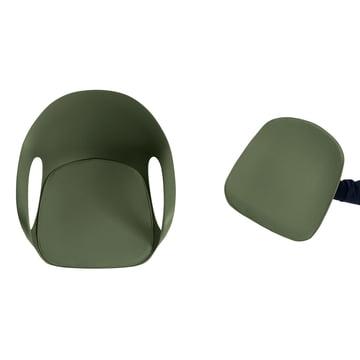 Kristalia - Elephant Stuhl, Drehgestell