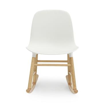 Form Rocking Chair von Normann Copenhagen aus Eiche in Weiss