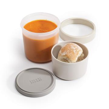 GoEat Suppenschale von Joseph Joseph in Grau