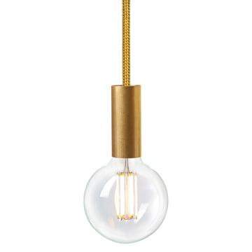 Tube Rail Gold Spire (TT-150) von NUD Collection mit Leuchtmittel