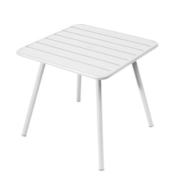 Luxembourg Tisch 80 x 80 cm von Fermob in Baumwollweiss