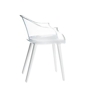 Cyborg Sessel von Magis in Weiss/Klar
