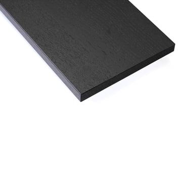 Regalboden (3er-Pack) von String in Esche schwarz gebeizt