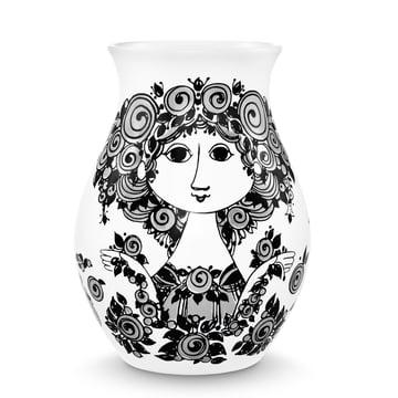 Bjørn Wiinblad - Vase Rosalinde, schwarz