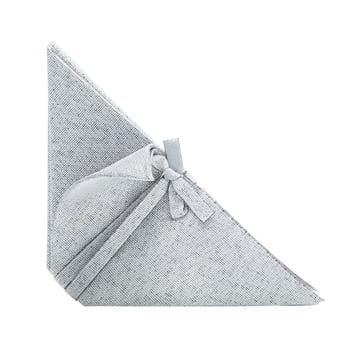Iittala X Issey Miyake - Serviette 53x40 cm, hellgrau
