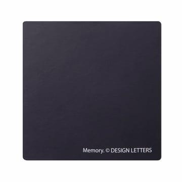 Design Letters - AJ Memory Spiel, Rückseite der Karte