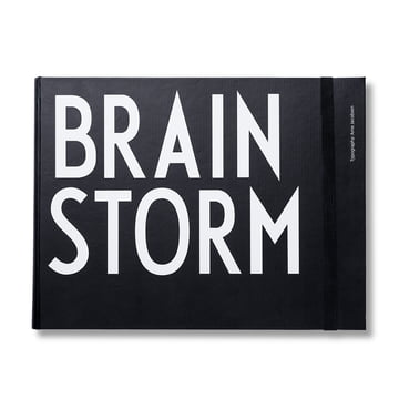 Design Letters - AJ Brainstorm Notizbuch