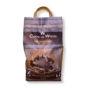 Grillholz aus Eichendauben (3 kg Packung) von Cook in Wood