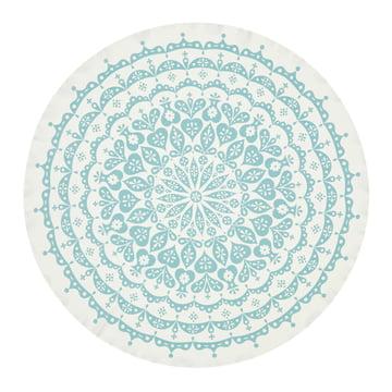 Tischdecke Lace von Vitra in Grau/Blau